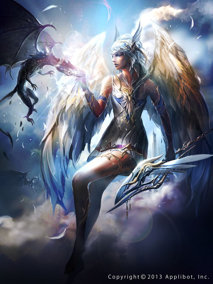 36 best Legend of the cryptid angels images on Pinterest ...