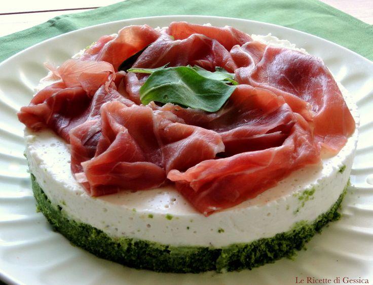 Cheesecake Salata - Ricetta con e senza Bimby