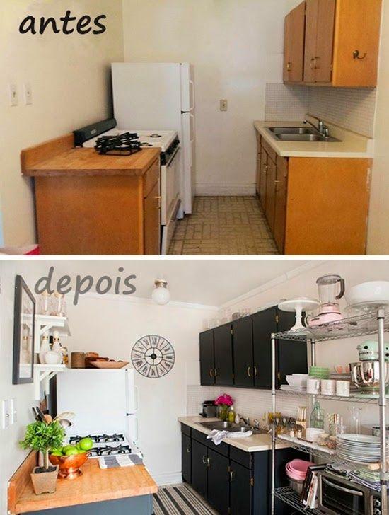 Cómo reformar una cocina pequeña low cost 1