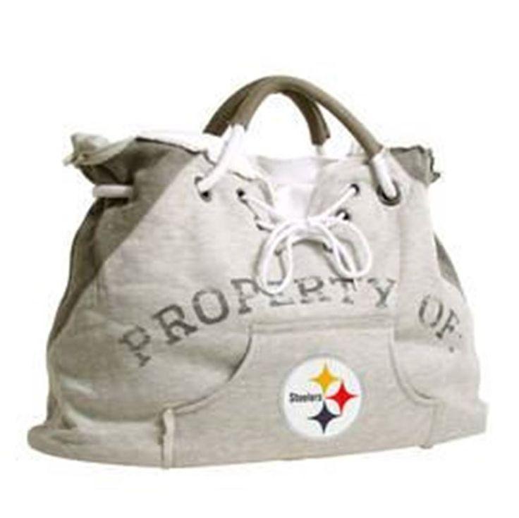 Pittsburgh Steelers Hoodie Fleece Tote