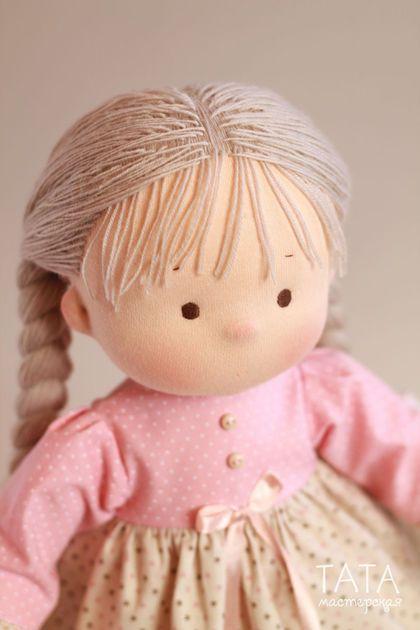 Коллекционные куклы ручной работы. Игровая куколка. Мастерская ТАТА Наталья Лебедева. Ярмарка Мастеров. Кукла, кукла из ткани