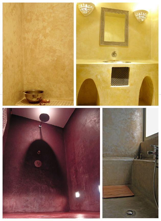 tadelakt chaux marrakech enduit naturel savon noir maroc enduits ferme pinterest blog et. Black Bedroom Furniture Sets. Home Design Ideas