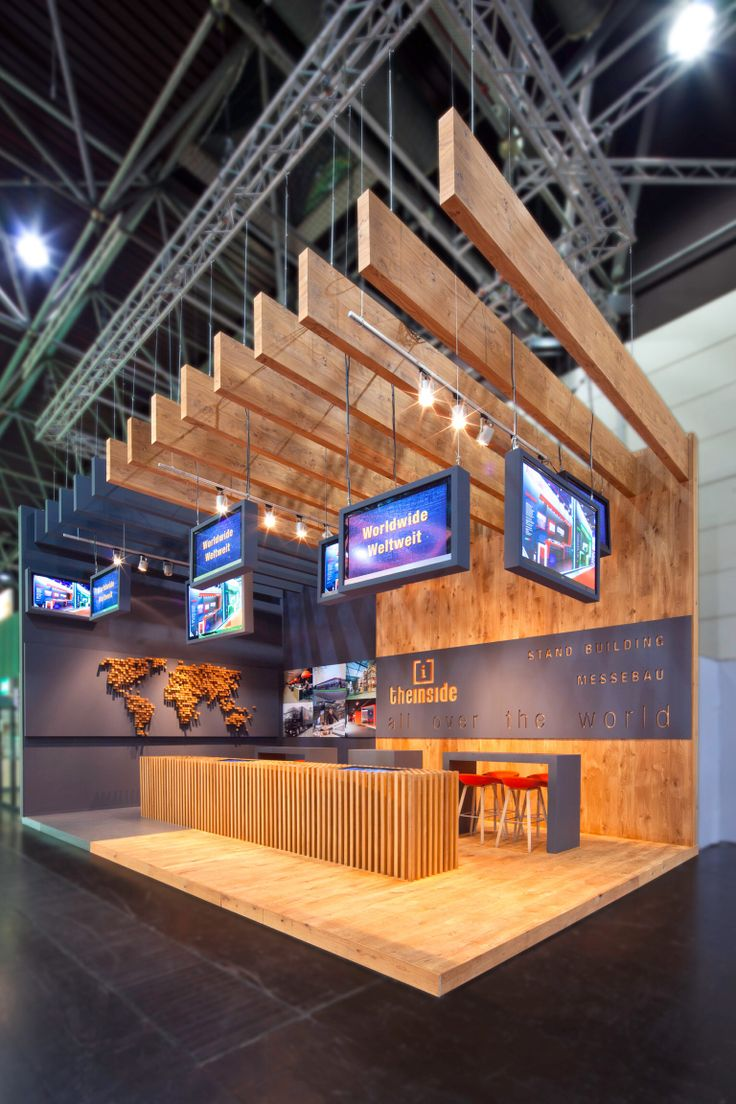 Creative Booth Exhibition : Stand the inside euroshop ontwerp en realisatie