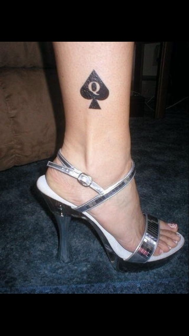 queen of spades tattoo
