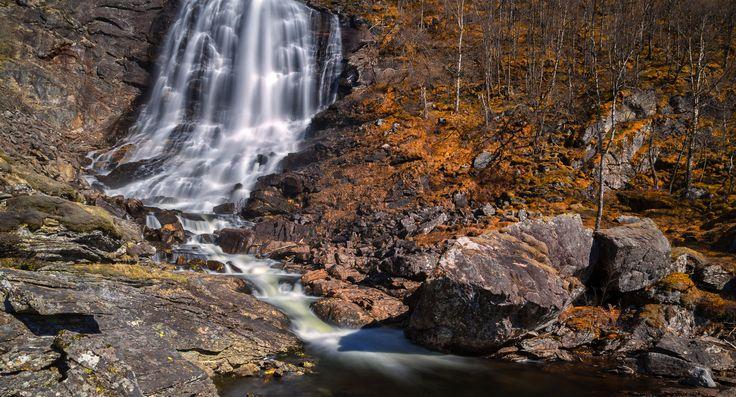 Silky Waterfall by Eirik Sørstrømmen on 500px
