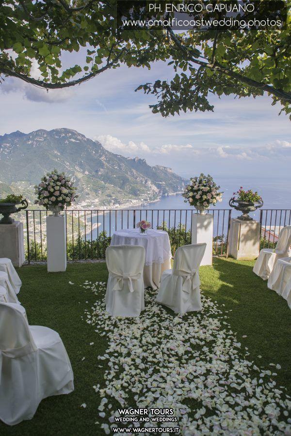 villa eva ravello wedding set