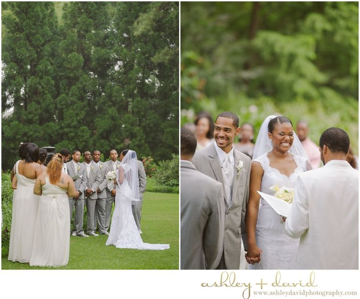 Cape Fear Botanical Garden Wedding Mini Bridal