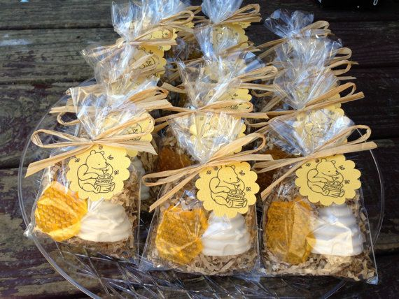 Honeycomb soap, beehive soap, winnie pooh, party favors, baby shower, oatmeal soaps. $1.85, via Etsy.