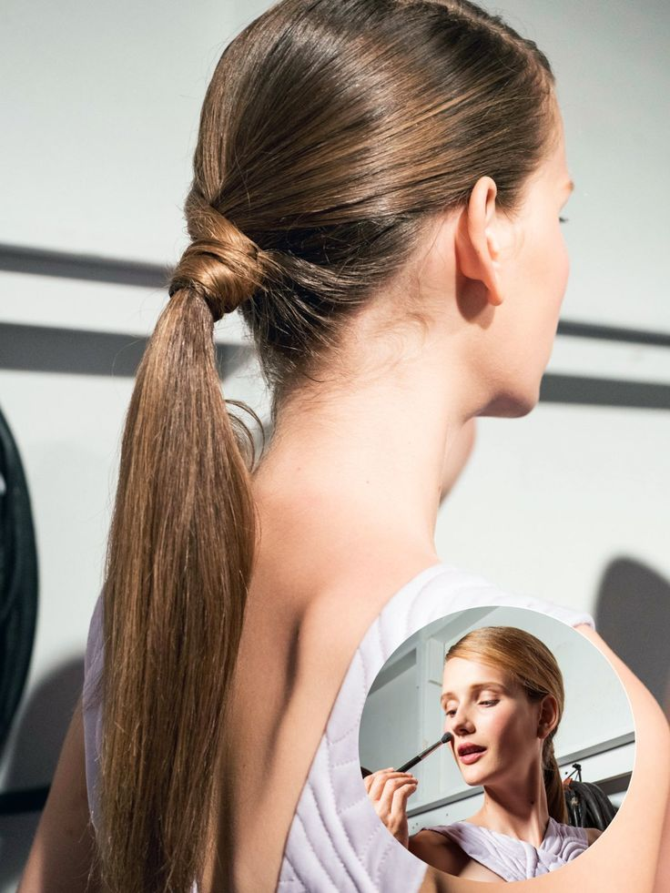Schnell und easy: Einen tiefen Seitenscheitel ziehen und eine etwas breitere Haarsträhne abteilen. Anschließend einen tiefen Pferdeschwanz ohne die Haarsträhne mit einem Haargummi zusammenbinden. Diese Strähne könnt ihr nun um das Haargummi wickeln, sodass es nicht mehr zu sehen ist, und mit eine Haarnadel feststecken. Fertig ist die Frisur für lange Haare!Hier zeigen wir euch noch mehr Langhaarfrisuren