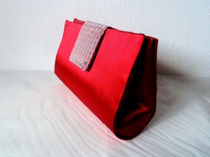 Bolsa De Mão Arezzo : Bolsa de m?o clutche vermelha bolsas m?os e