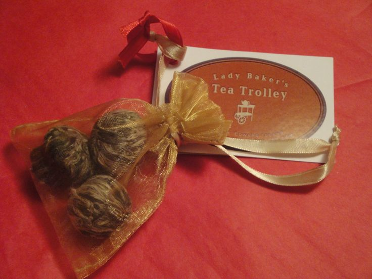 3 flowering teas stocking stuffer. $8.00 Available at the Charlottetown Farmers' Market. http://www.ladybakersteatrolley.com