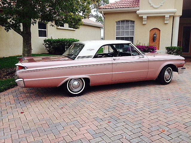 1963 Mercury Meteor Mileage 114000 Engine 260 V8 Body Type 2 Door Hard Top Coupe Interior Black Exterior Pink Frost Old Cars