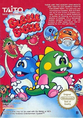 The Nerdy Girlie: Retro Gaming: Bubble Bobble