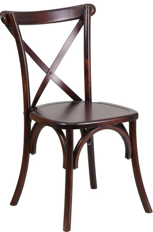 Fruitwood Wood Cross Back Chairs From EventsUber. The Latest Trend For  Wedding And Special Events