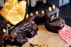 93: Chocolate dragon by Joanna Niedobecka