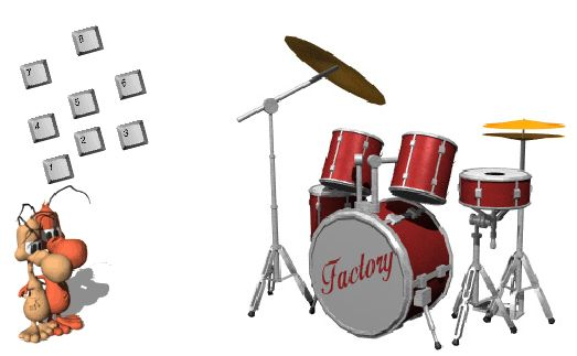 Online Drummen