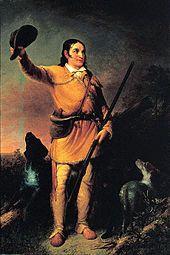 "Davy Crockett - Tennessean killed in TX ""Battle of the Alamo"""