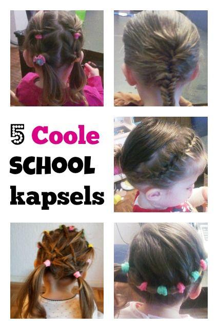 Hair styles: 5 coole vlechten en school kapsels voor peuters en kleuters - Mamaliefde.nl