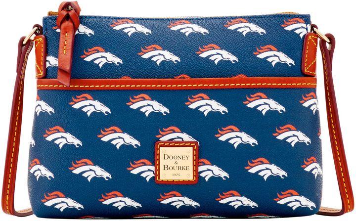 Dooney & Bourke NFL Broncos Ginger Crossbody Shoulder Bag