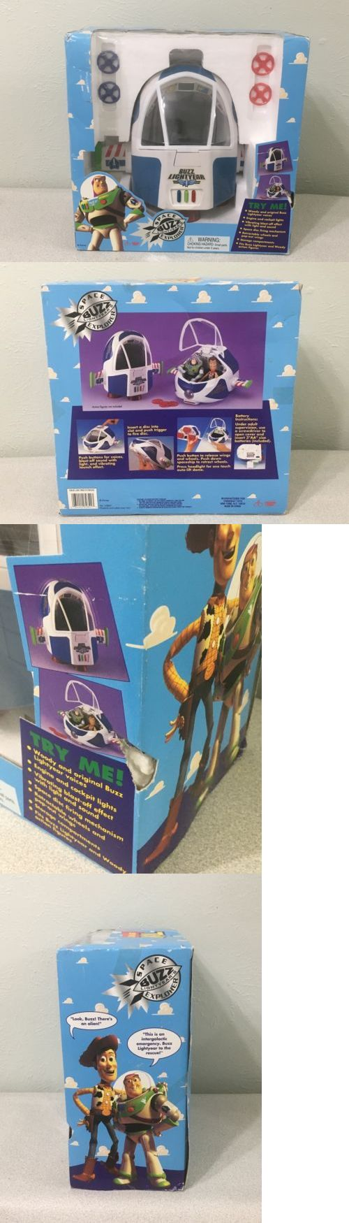 Toy story of terror 1 2 3 buzz lightyear of star command for sale - Toy Story 19223 Disney S Toy Story Buzz Lightyear Space Explorer Buy It