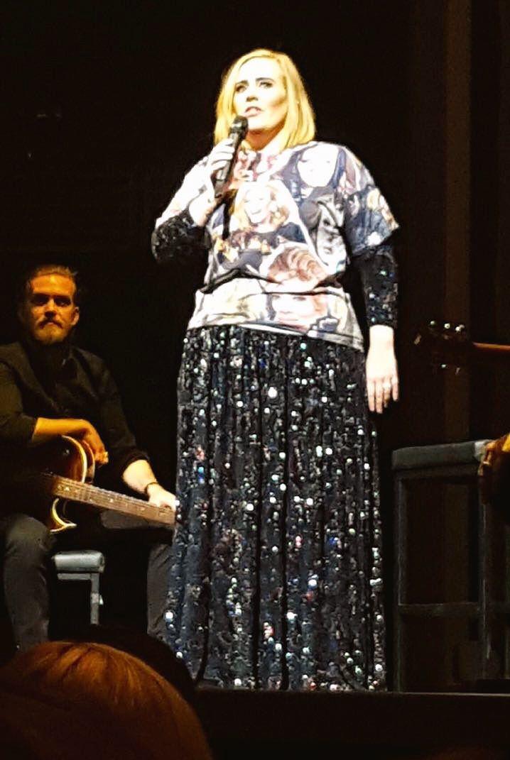 Adele performing at 'Talking Stick Resort Arena', Phoenix, Arizona (Nov. 21)