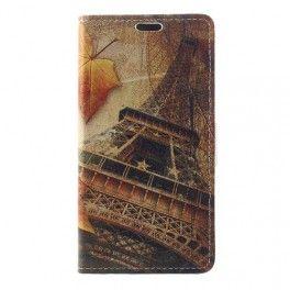 Huawei Honor 8 Lite Eiffel-torni puhelinlompakko.