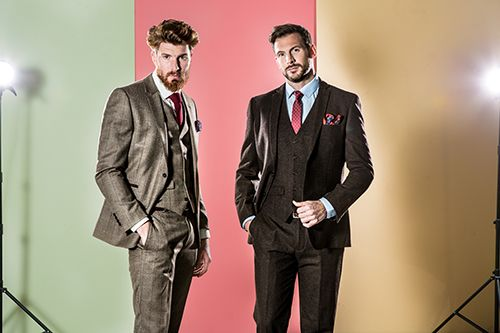 Tweed Suits are this seasons must have style. Shop Now: https://www.slaters.co.uk/mens-suits/tweed-suits