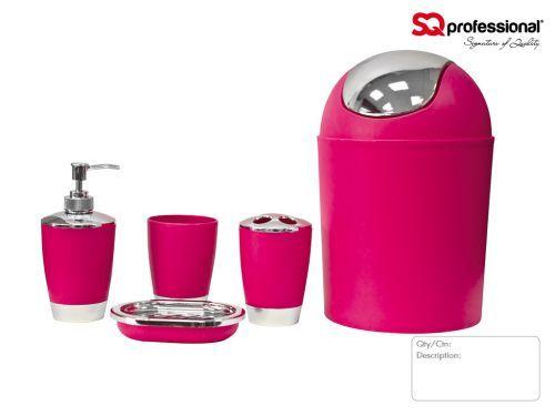Pink Bathroom Accessories, Pea Bathroom Accessories