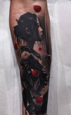 Geisha Tattoo Designs | Get New Tattoos for 2016 Designs and Ideas from Latest Tattoos