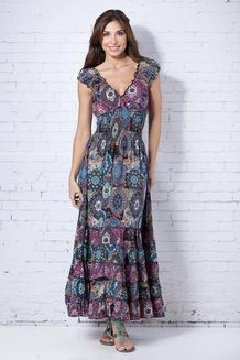 DRESSES - Long dresses Peace&Love by Calao Clearance Websites Store Newest Online 7OKACLPv