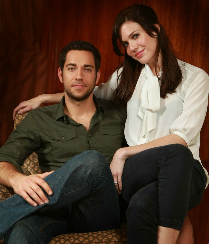 Zachary Levi & Mandy Moore