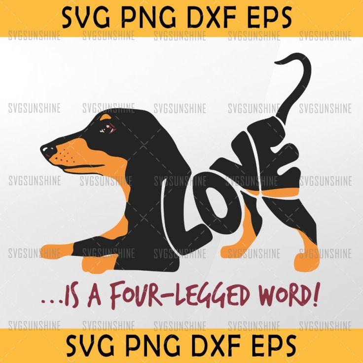 Download Dachshund svg, Love dachshund svg, Dachshund it's a fotur ...