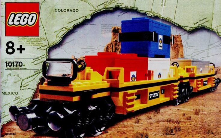 lego cargo train instructions