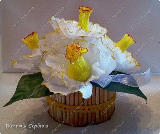 К 8-му  Марта подготовила небольшие цветочные композиции фото 5