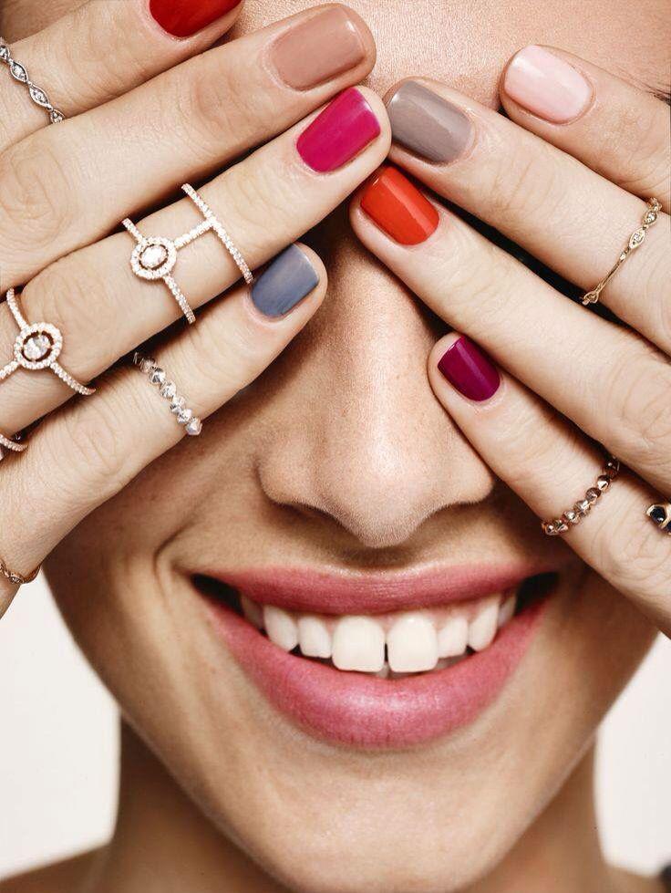 Die perfekten Nagellack Farben für den Herbst   Schick, alle Fingernägel ander…