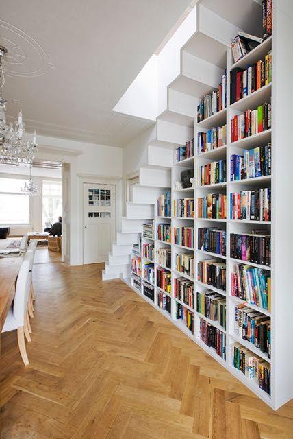 La scala - libreria di una casa di Amsterdam2