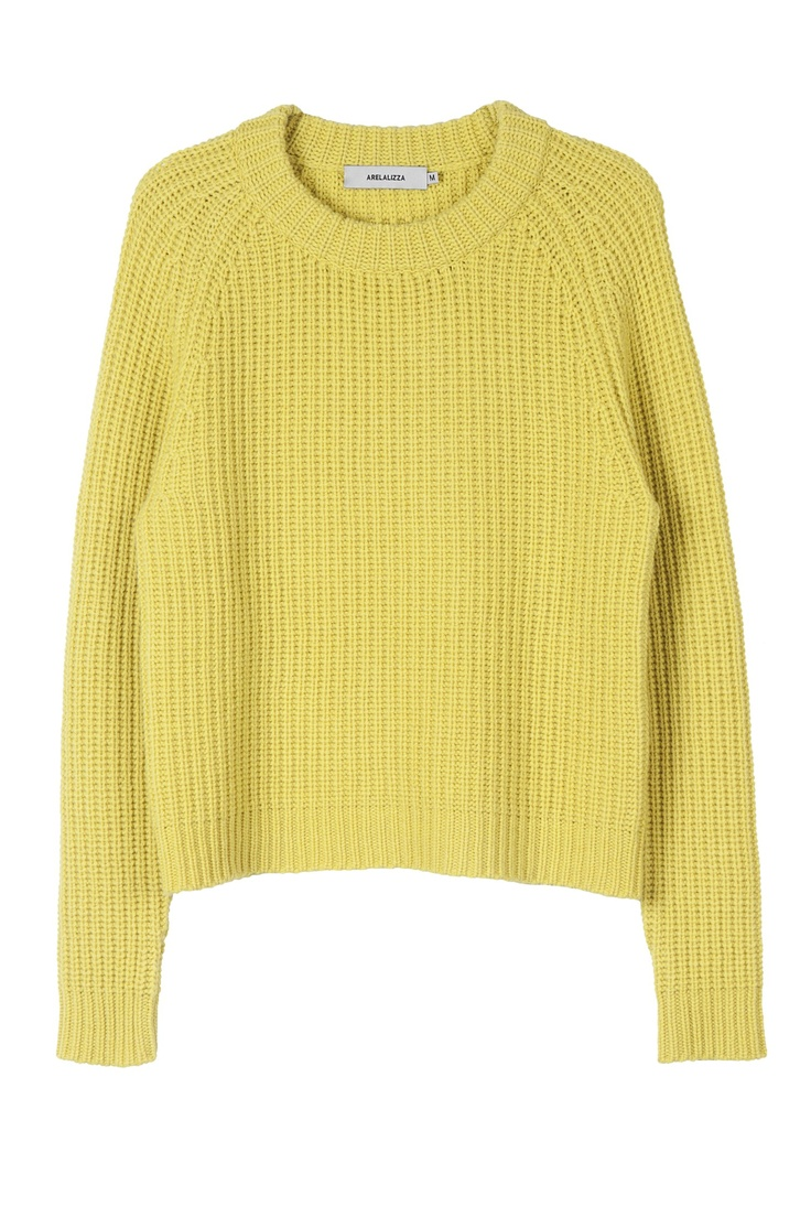 Arelalizza cashmere fisherman sweater
