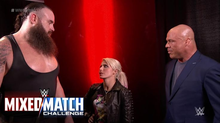Kurt Angle pairs Alexa Bliss and Braun Strowman for WWE Mixed Match Challenge  ||  Raw's General Manager feels that the unusual combination of the Raw Women's Champion and The Monster Among Men will help Team Red win WWE Mixed Match Challen... https://www.youtube.com/watch?v=uq8LjvbtdTk