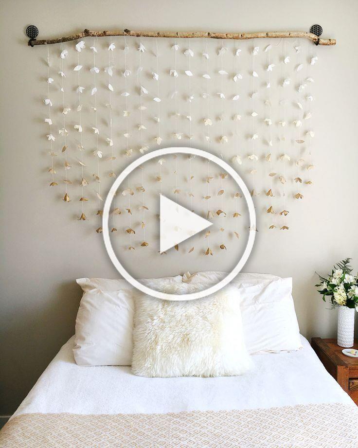Room Decor Diy Headboard Wall Hangings Tapestries Paper