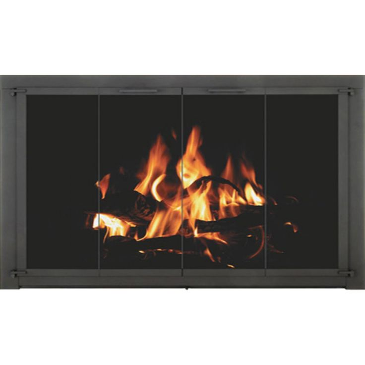 Affordable, durable, Fireplace door   The Crestone will enhance your Superior  fireplace. Easy, DIY installation. Let us build your door today! Click here. - 17 Best Images About Temco Fireplace Doors On Pinterest Models