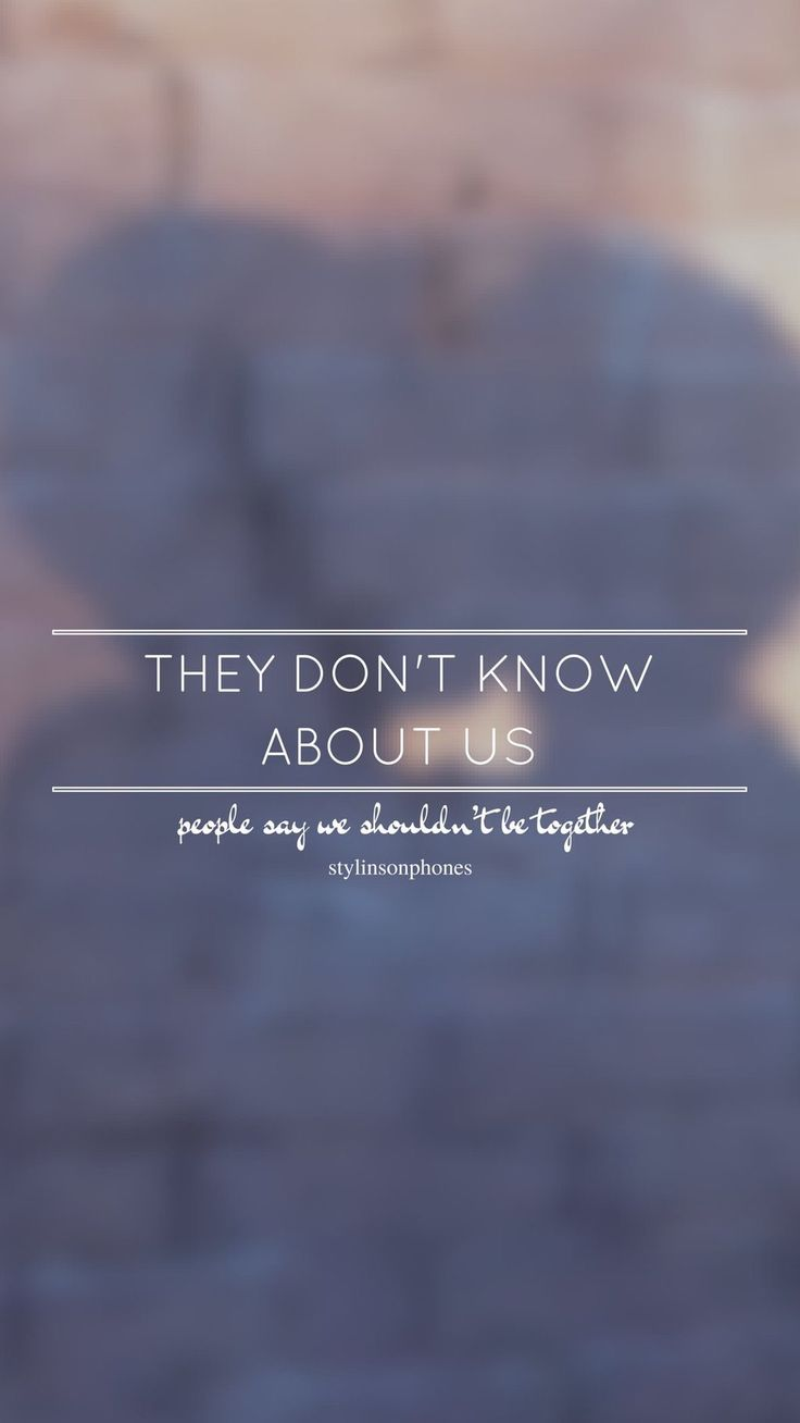 The Don't Know About Us // One Direction // ctto: @stylinsonphones (on Twitter)