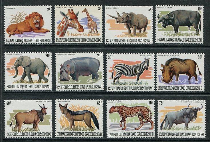 Бурунди 1982 Серия - 1м ** Фауна Млекопитающие 800 ЕВРО