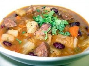 """Sopa  A Lavrador- If you are familiar with the story of """"Stone"""" soup... Well this is the Portuguese version. It has a little of everything and very hardy...hehehe"""