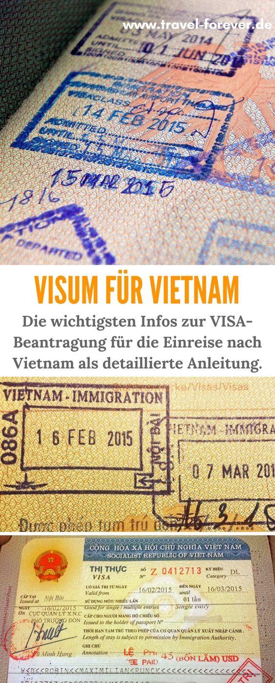 Visum Vietnam - Alles was du wissen musst, wenn du nach Vietnam einreisen willst - Welches Visum und wie beantragen? Welche Kosten? Hier entlang --> Visa Vietnam   Einreise Vietnam   Immigration Vietnam   Grenze Vietnam   evisum Vietnam  