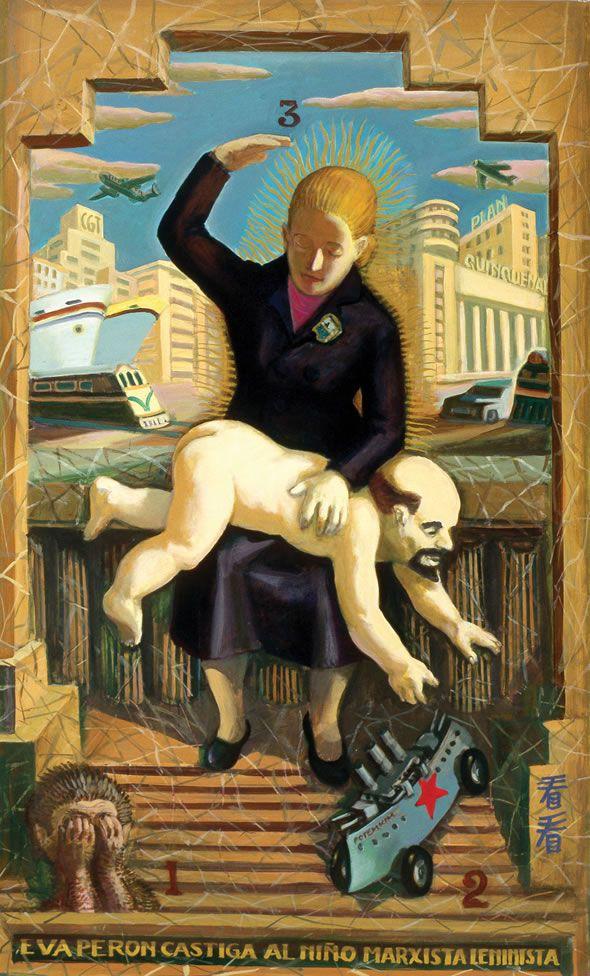 Daniel Santoro.  2005.  Evita punishes the marxist leninist child.
