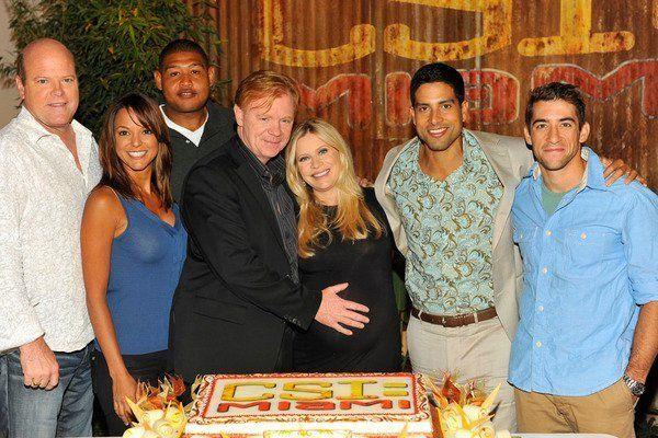 El elenco de CSI:Miami en la celebración del episodio 200 ❤