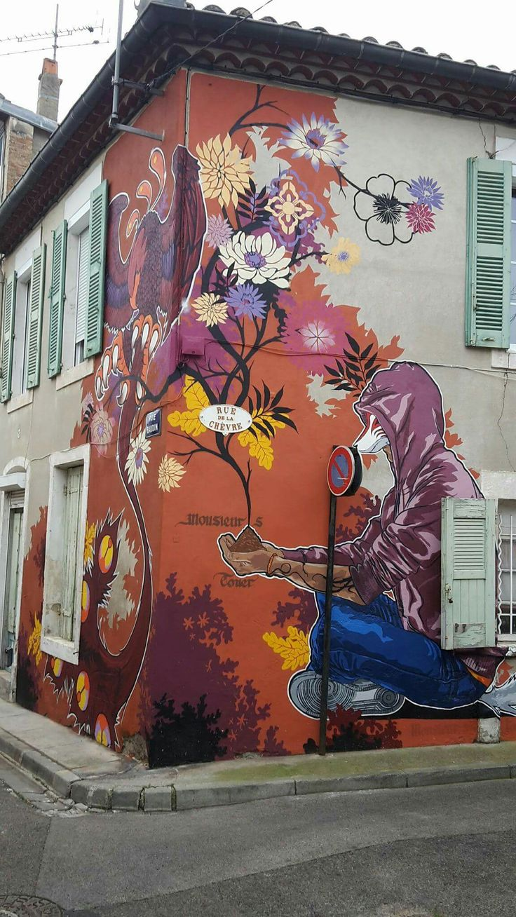 Graffiti wall rubric - Monsieur S