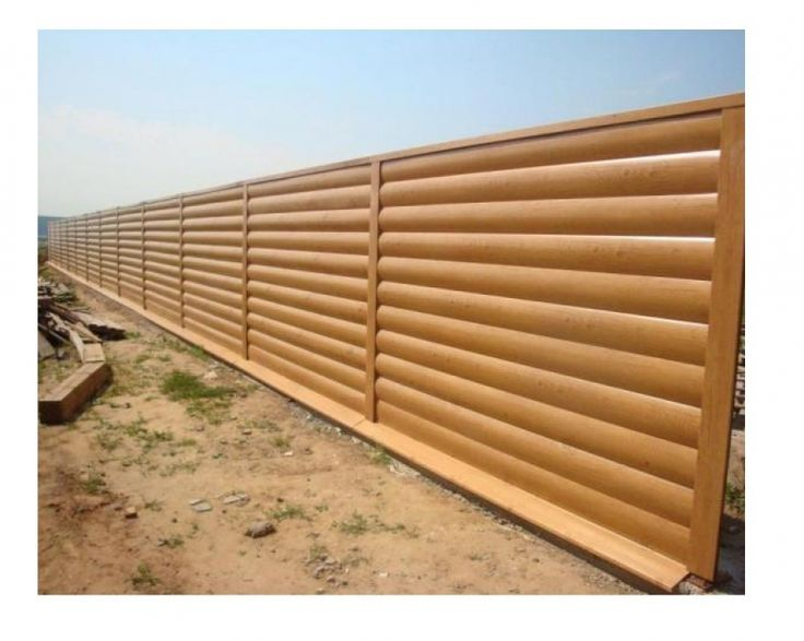 How to build a fence with siding