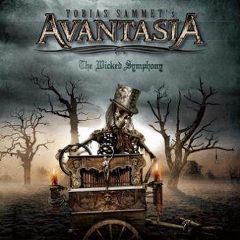 "L'album ""The wicked symphony"" degli #Avantasia."