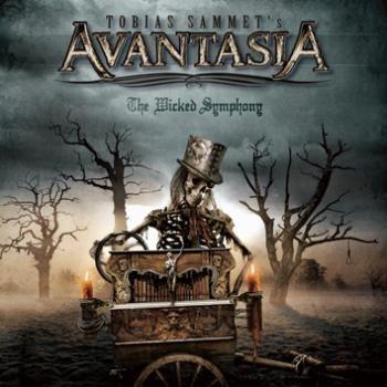 "L'album ""The wicked symphony"" degli #Avantasia."